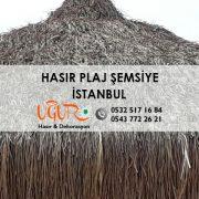 İstanbul Hasır Plaj Şemsiye