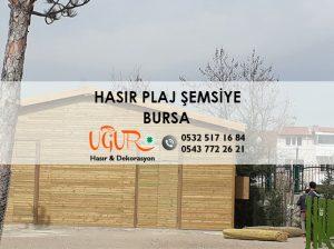 Bursa Hasır Plaj Şemsiye