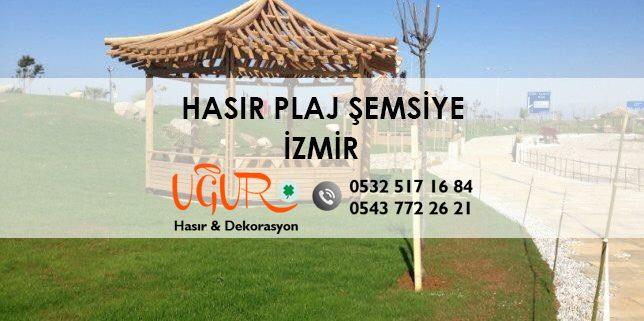 İzmir Hasır Plaj Şemsiye